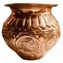 Immaculate Copper Lota, Capacity: 100-1000ml