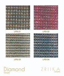 Zriika  Woven Designer Loop Pile Carpet - Diamond Series