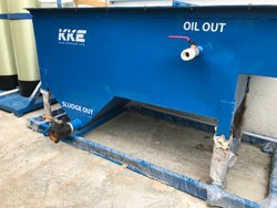 W100 Skid 1 Oil Sludge Separator Water Recycling