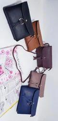 Leather Multicolor Handbag
