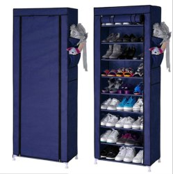 Parasnath 9-10 Layer Utility Rack Cloth Cabinet