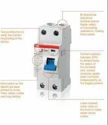 ABB F200 Series RCCB, Voltage: 230/400 - 240/415 V