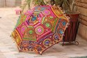 Embroidered Rajasthani Wedding Umbrella (Multicolour)