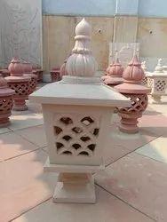 Beige Sandstone Lamps
