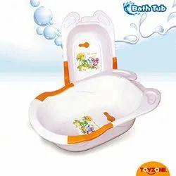 Plastic 6 Months- 2 Years Baby Bath Tub