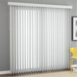 PVC White Vertical Window Blinds