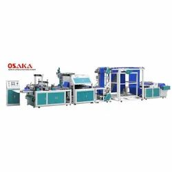 OS-D600 Automatic Non Woven Box Bag Making Machine