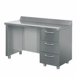 Stainless Steel SS Office Table