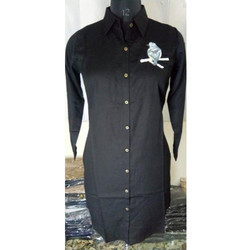 Ladies Black Casual Shirt