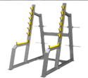 Non Weight Machine Squat Rack Cosco CE-3050