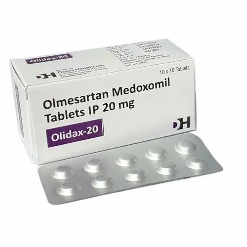 magnesium. Olmesartan melodoxomil is not metabolized