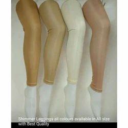 Churidar, Straight Fit Plain Satin Leggings