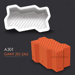 A301 Giant Zig Zag Mould