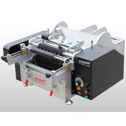 Semi Automatic Tabletop Wet Glue Labeling Machine