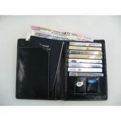 Male Wallet Passport Leather Wallets