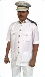 White Driver Uniforms