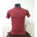Plain Collar Cotton Polo T-Shirt