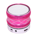 Zydeco S33U Bluetooth Speaker (White & Pink)