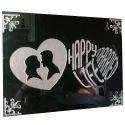 Love Heart Acrylic Wedding Gift