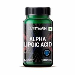 Livestamin Alpha Lipoic Acid Capsules, Packaging Size: 60 Capsules, Packaging Type: Bottle