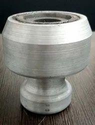 Aluminium Round Spectro Coin Sample Magnetic Holder