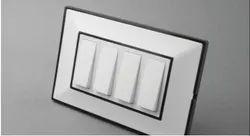 White Modular Cover Frames, Plate Module Size: 1-18