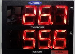 Humidity And Temperature Indicator - LED Model