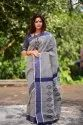 Designer linen cotton Saree