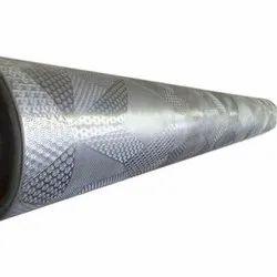 Mild Steel Leather Design Embossing Roller