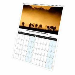Paper Printed Wall Calendar