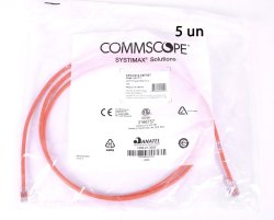 Systimax Copper Cat6 Commscope Patch Cord, Rj-45