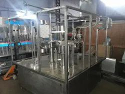 Automatic 60 BPM Bottle Filling Machine