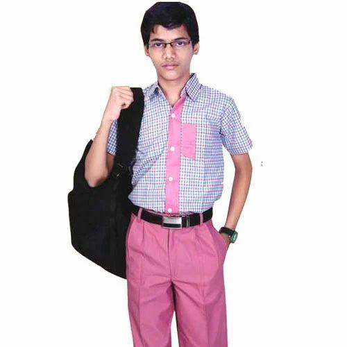 Cotton Boys School Uniform, Size: Large, Rs 500 /pair Lucky Uniforms | ID:  15004668955