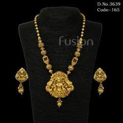 Antique Temple Necklace Set