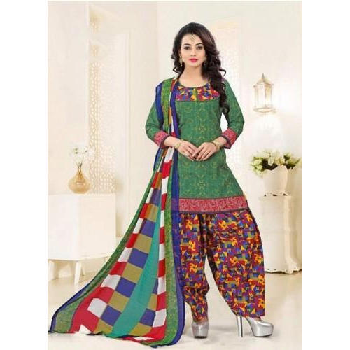 3ff52357534a Cotton Semi-Stitched Daily Wear Printed Salwar Suit, Rs 349 /piece ...