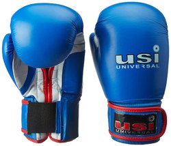 Rexene Blue Boxing Gloves USI Bouncer, Packaging Type: Pack Of 1 Pair, Size: L, Xl