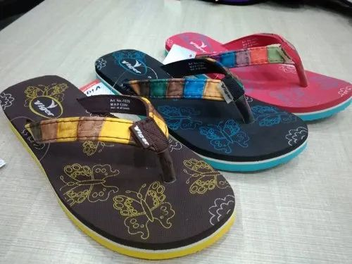 0ebc1991786ed ... Female Rubber Flip Flops And Beach Slippers. Request Callback. Ladies  Soft Printed Casual Slipper