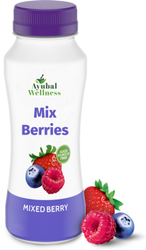 Ayubal Wellness Mix Berries Juice, Packaging Size: 500 ml, Packaging Type: Bottle