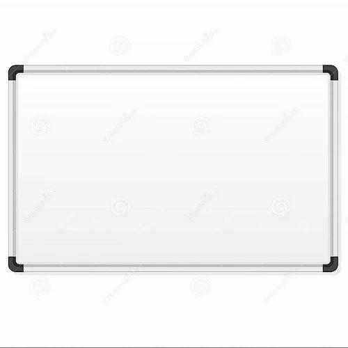 white marker board  frame material  aluminium  rs 90   square feet