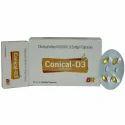 Conical D3 Softgel Caps
