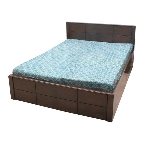 Teak Wood Double Bed Size 6 X 6 And 6 5 X 7 Feet Rs 12000 Piece The Decor India Id 19719758612