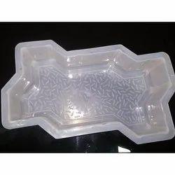 Zig-Zag Paver Plastic Mould