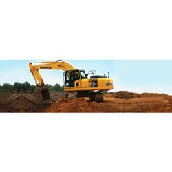 Hydraulic Excavator Rental Services in India