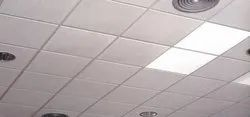 PVC Coated Gypsum Ceiling Tiles