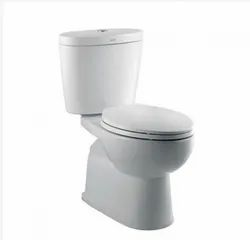 Open Front Round American Standard New Sebia Close Coupled Toilet, for Bathroom Fitting