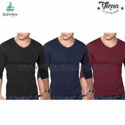 Plain T Shirt V Neck
