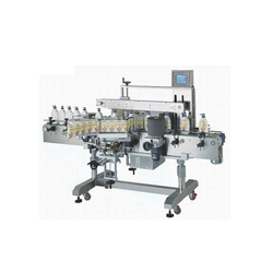 Automatic Twin Sides Labeling Machine
