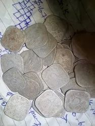 Five Paise Old Coins 1971