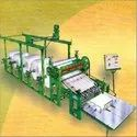 Paper Roll to Sheet Cutting Machine with 5 Roll Stand