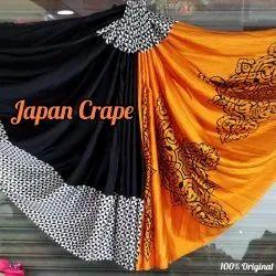 Japan Crepe Saree